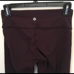 Purple/Plum Lululemon Leggings